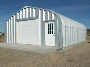 Metal Prefab Quonset Hut