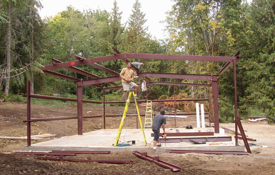 Steel Building Project