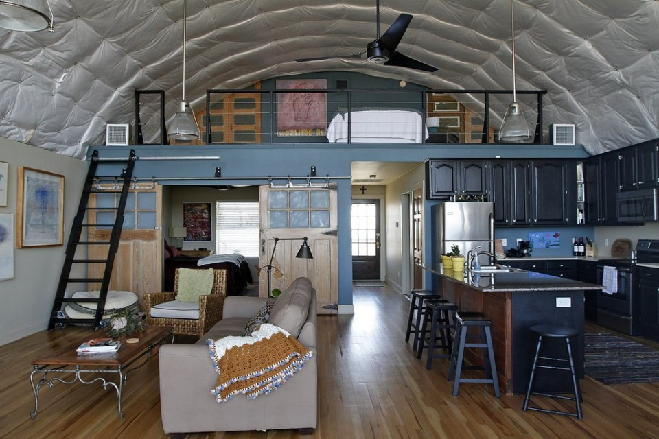 Cool Quonset Hut Home In Louisiana